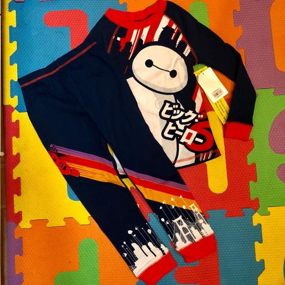 c6dff0ccf Disney Pajamas | Nwt Big Hero 6 Baymax Boys Pjs | Poshmark